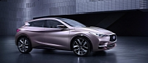 Infiniti Shows Q30 Concept ahead of Frankfurt Debut