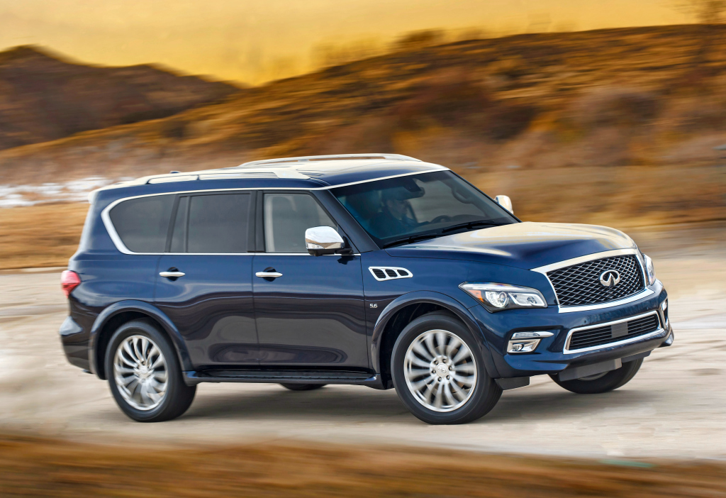 infiniti updates qx80 for 2017 model year priced from. Black Bedroom Furniture Sets. Home Design Ideas