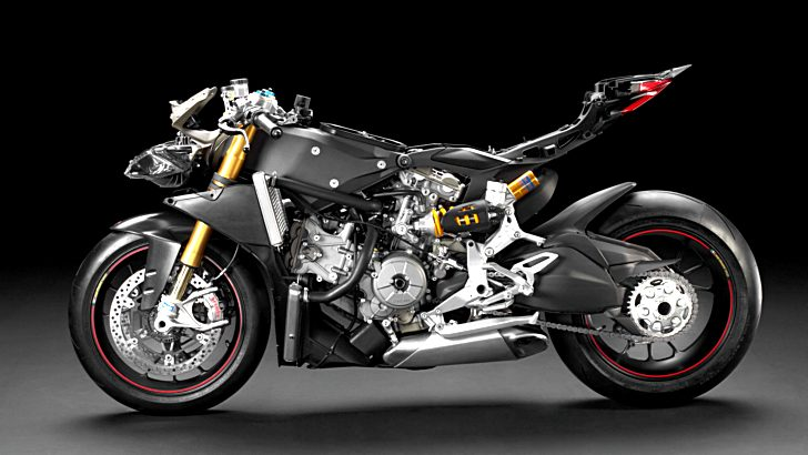 Insane Ducati 1199 Panigale R Superleggera Expected