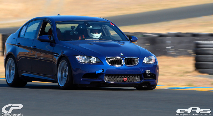 Interlagos Blue BMW E90 M3 Goes Around Sonoma Raceway [Photo Gallery]