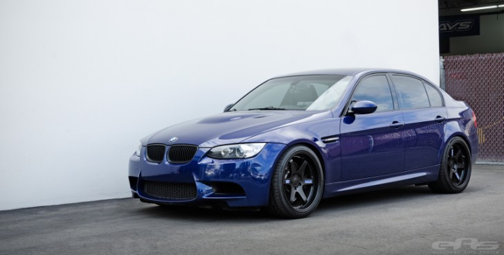 Interlagos Blue BMW E90 M3 Looks Stunning on Volk Wheels [Photo Gallery]