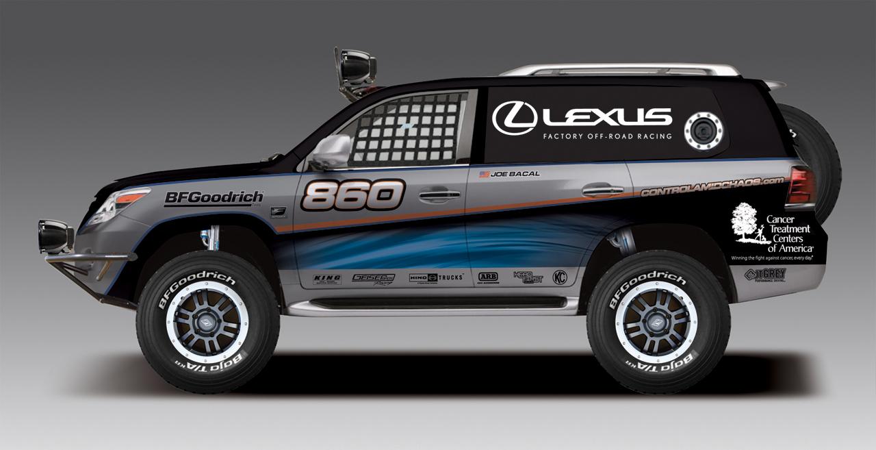 2011 JTGrey Racing Lexus LX 570