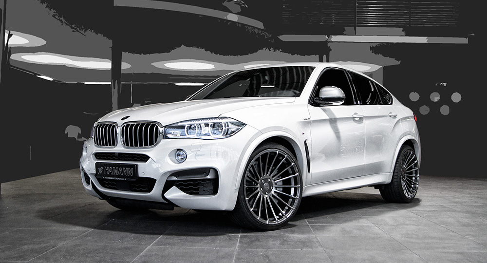 Introducing The Stylish Bmw X6 On Hamann Wheels