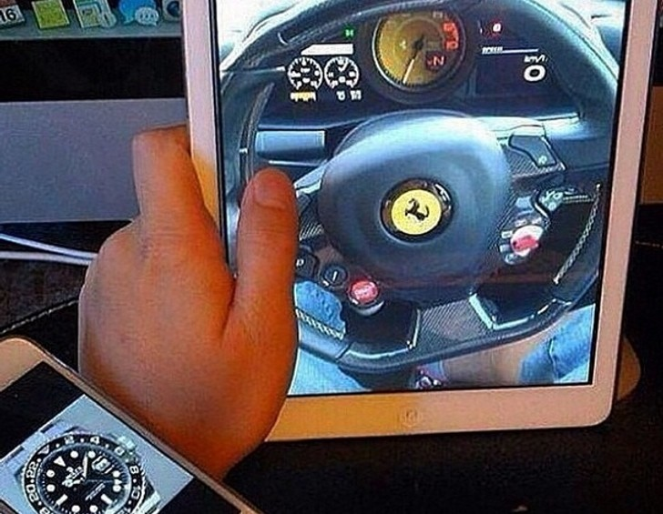 Affordable Auto Insurance >> iPhone and iPad Combo: Easiest Way to Pretend You Drive a Ferrari and Wear a Rolex - autoevolution