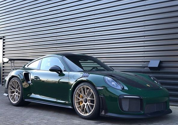 Irish Green 2018 Porsche 911 Gt2 Rs Is A Lucky Charm Autoevolution