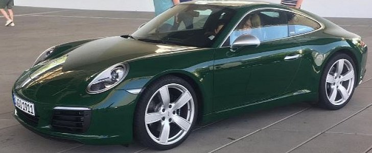 irish green porsche 911 carrera s 1 million 911 looks. Black Bedroom Furniture Sets. Home Design Ideas