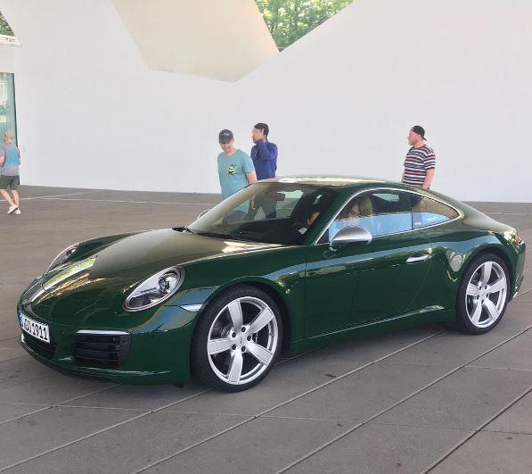 Irish Green Porsche 911 Carrera S 1 Million 911 Looks