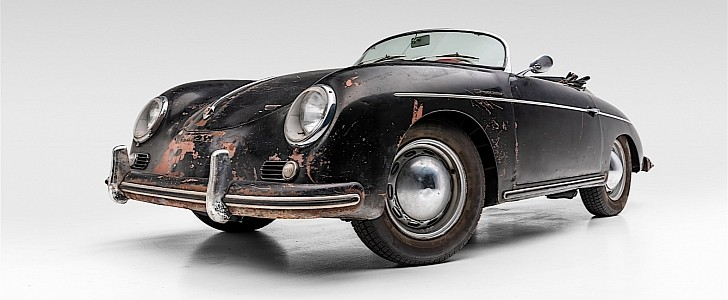 Is $265k Too Much for an Unrestored 1957 Porsche 356A Speedster? Probably Not