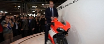 Is HRH Prince William Getting a Ducati 1199 Superleggera? [Photo Gallery]