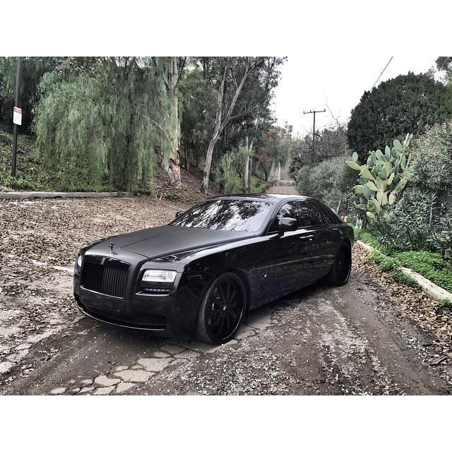 Is Kim Kardashian Selling Her Matte Black Rolls Royce Ghost