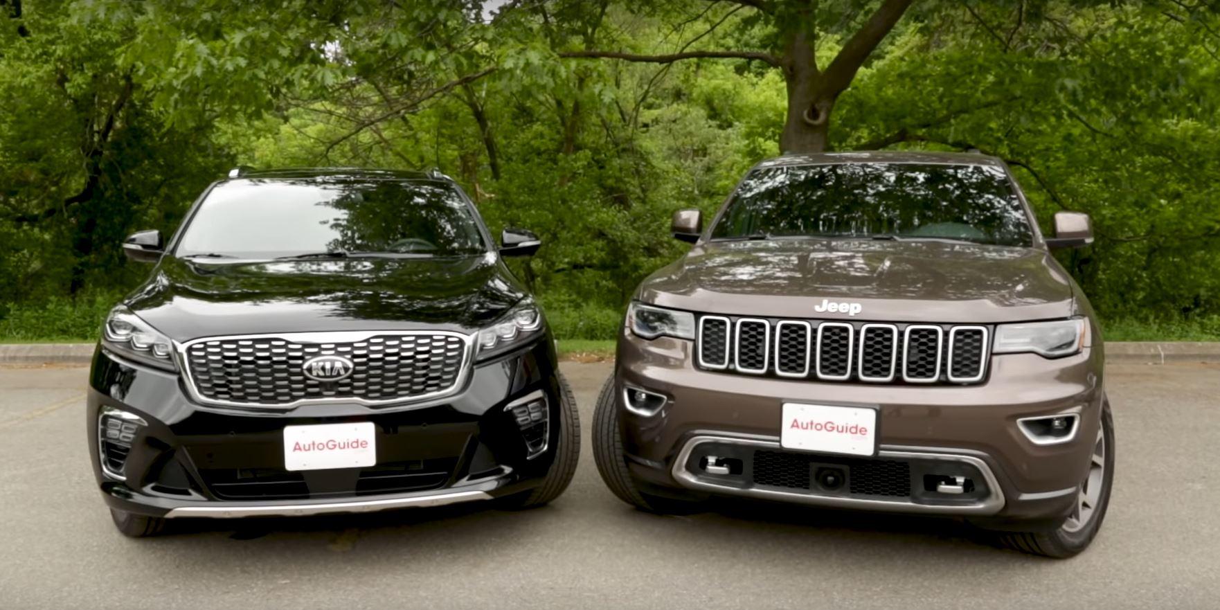 Sorento Vs Grand Cherokee - Chevy Equinox Vs Ford Explorer ...