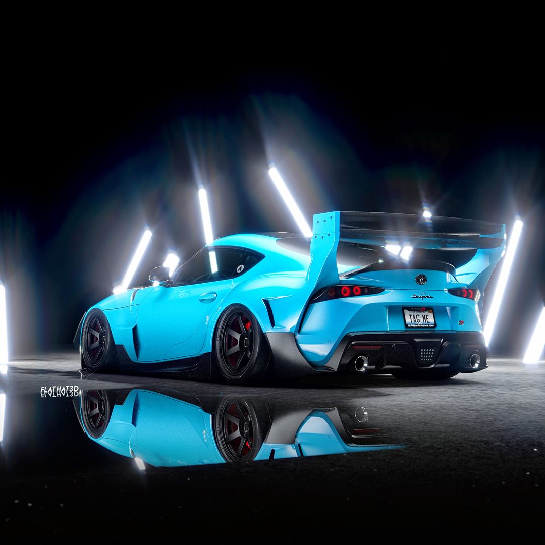 Is The 2020 Toyota Supra Better With A Big Wing Or Widebody Kit