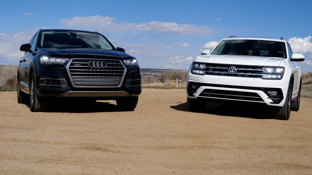 Is The Volkswagen Atlas An Audi Q For Less Autoevolution - Audi q7