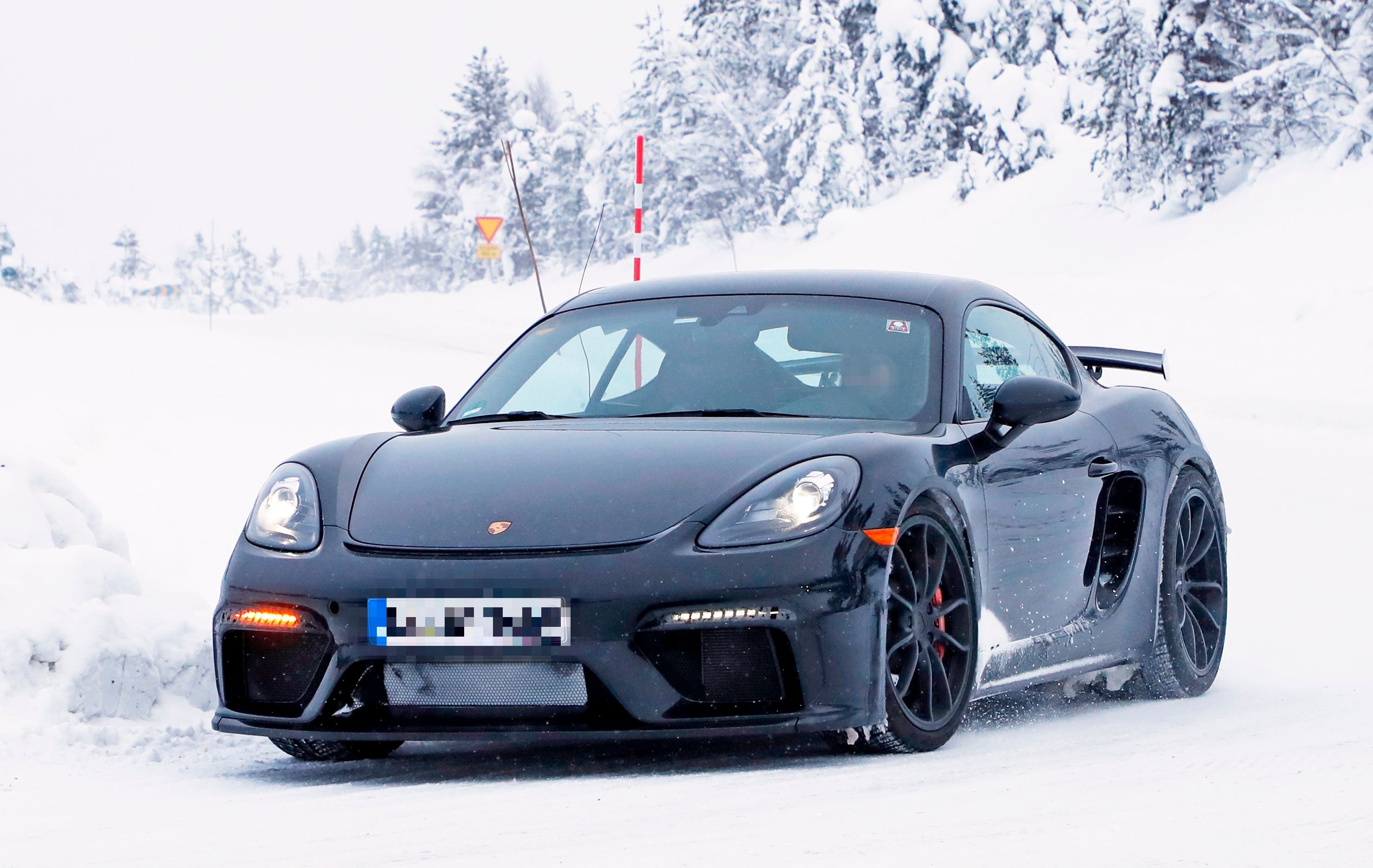 2019 porsche cayman gts 2019 Porsche 718 Cayman GT4 Spied in Production Trim, 911 GT3  2019 porsche cayman gts