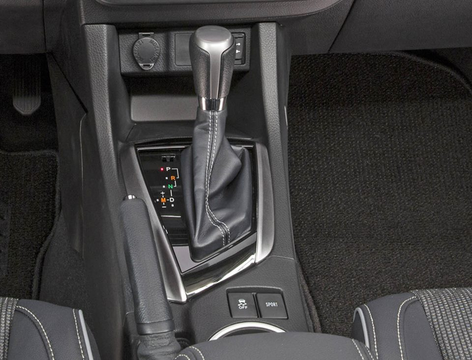 2017 Toyota Corolla Center Console Leaked Sport On And Shiftable Automatic
