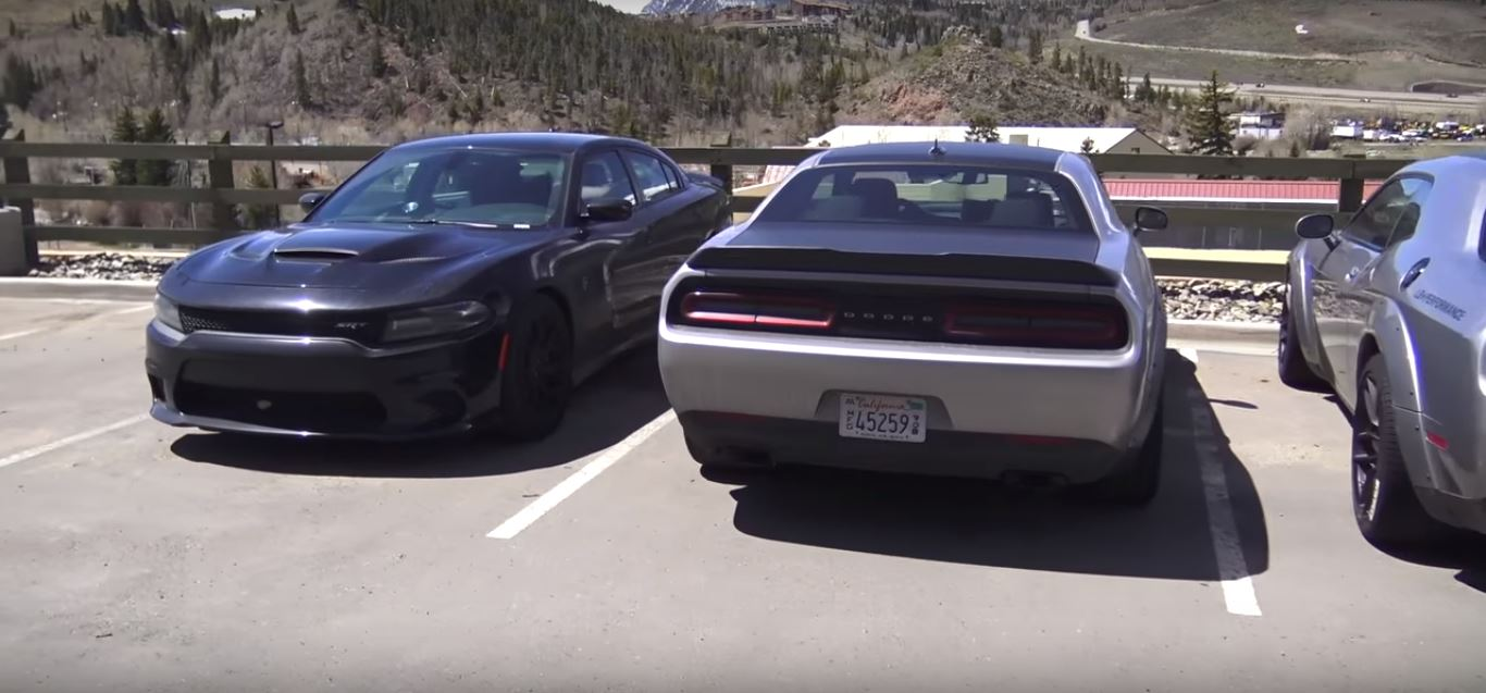 Is This a Dodge Charger SRT Demon Prototype? - autoevolution