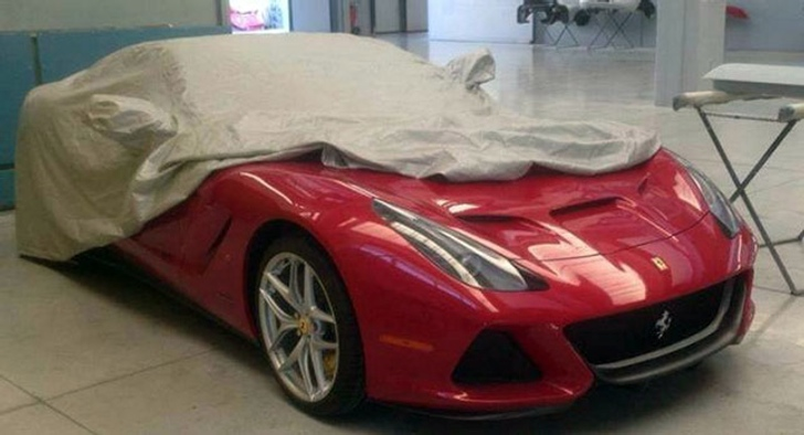 Is This The Ferrari F12 Spider Autoevolution