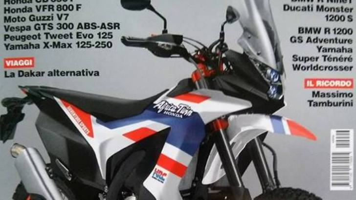 Is This the New Honda Africa Twin? Guess Not. - autoevolution
