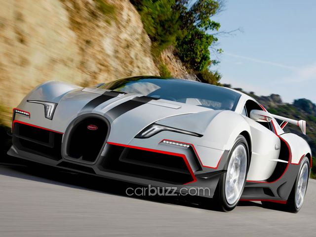 Is This the Next-Gen Bugatti Veyron?