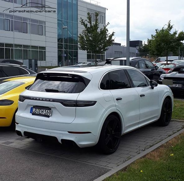 Cayenne Turbo S >> Is This The Porsche Cayenne Turbo S E Hybrid Prototype