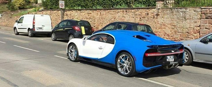Is This The Us Spec Bugatti Chiron Ugly Impact Bumpers