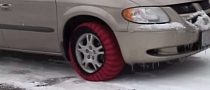 Is Your Car Slippery in Winter Conditions? Grab Some Snow Socks [Video]