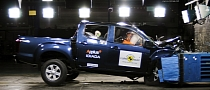 Isuzu D-Max Gets 4-Star Euro NCAP Safety Rating [Video]