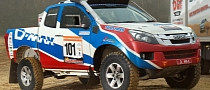 Isuzu Motorsport Prepares D-Max for 2013 Dakar Rally