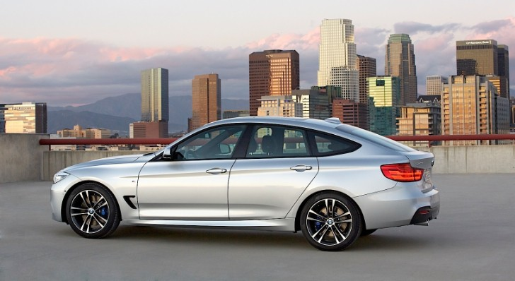 It's Official: The New BMW 3 Series Gran Turismo Revealed [Photo Gallery]