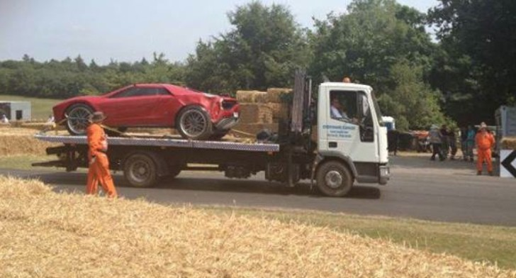 ItalDesign Giugiaro Parcour Crashed at Goodwood!