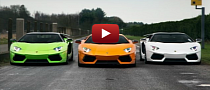 Italian Job: Three Oakley Design Aventadors Make a Flag [Video]