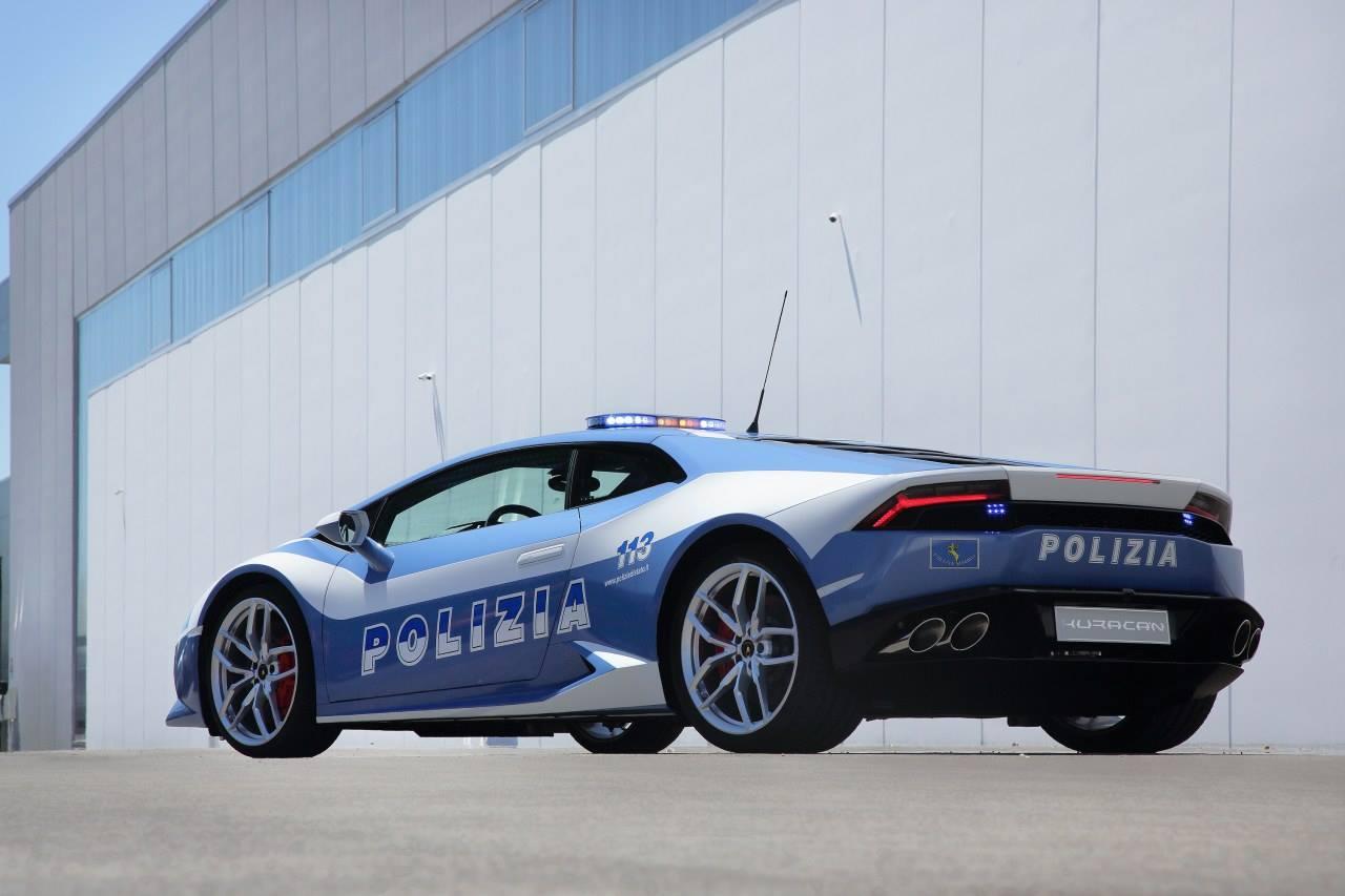 Italian Police Lamborghini Huracan Revealed Autoevolution