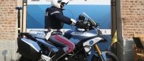 Italian Police Motorcycle Riders Protected by Dainese D-Air Street Airbag