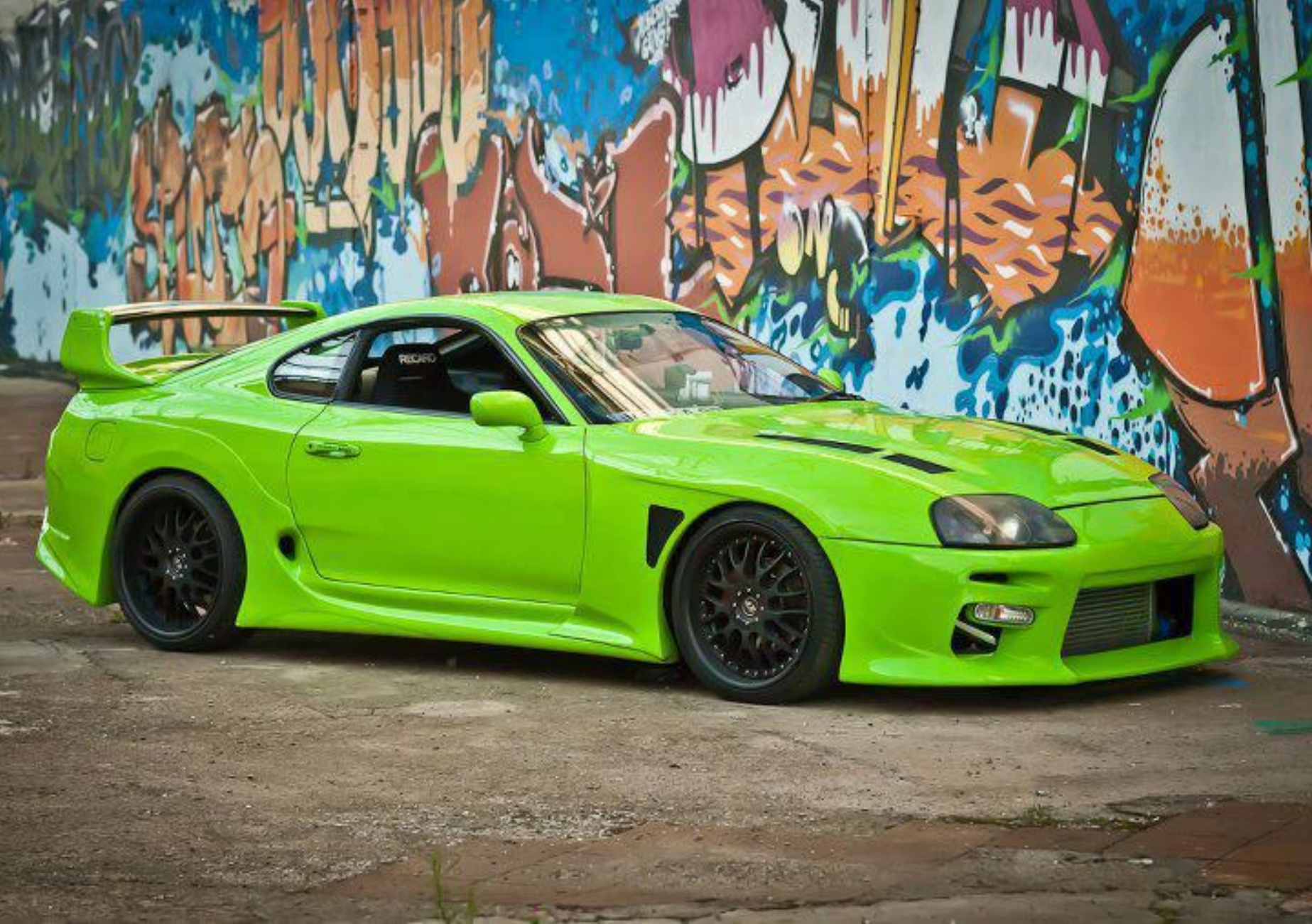Ithaca Green Toyota Supra Turbo Looks The Business
