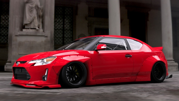 Scion Frs Turbo >> It's Official: 2014 Scion tC Will Get Rocket Bunny Kit ...