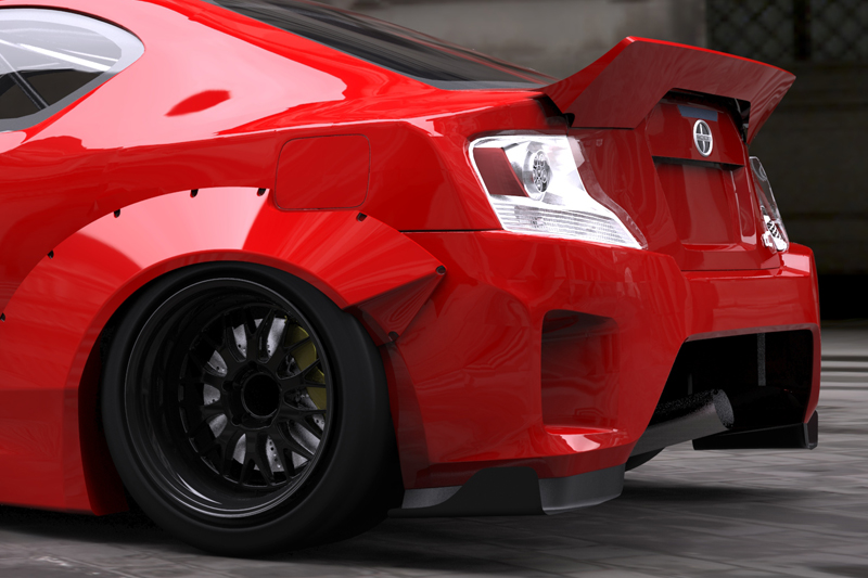 Scion Tc 2014 Tuning >> It's Official: 2014 Scion tC Will Get Rocket Bunny Kit - autoevolution