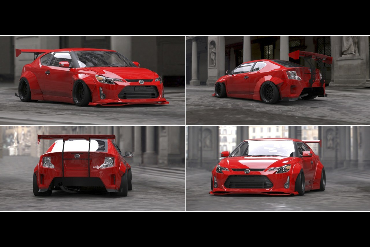 Its Official Scion Tc Will Get Rocket Bunny Kit