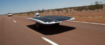 IVy Solar Car Breaks Speed Record