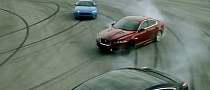 Jaguar at Play Commercial Displays Drifting [Video]