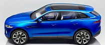 Jaguar C-X17 Crossover Concept Fully Revealed [Photo Gallery]