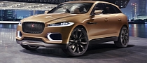 Jaguar C-X17 SUV Concept: New Color at Guangzhou Auto Show