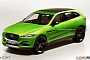 Jaguar C-X17 / XQ Crossover Rendered as Production Car