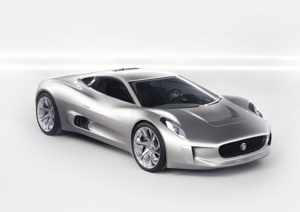 Jaguar C-X75 Gets Concept Car Honors in Detroit - autoevolution