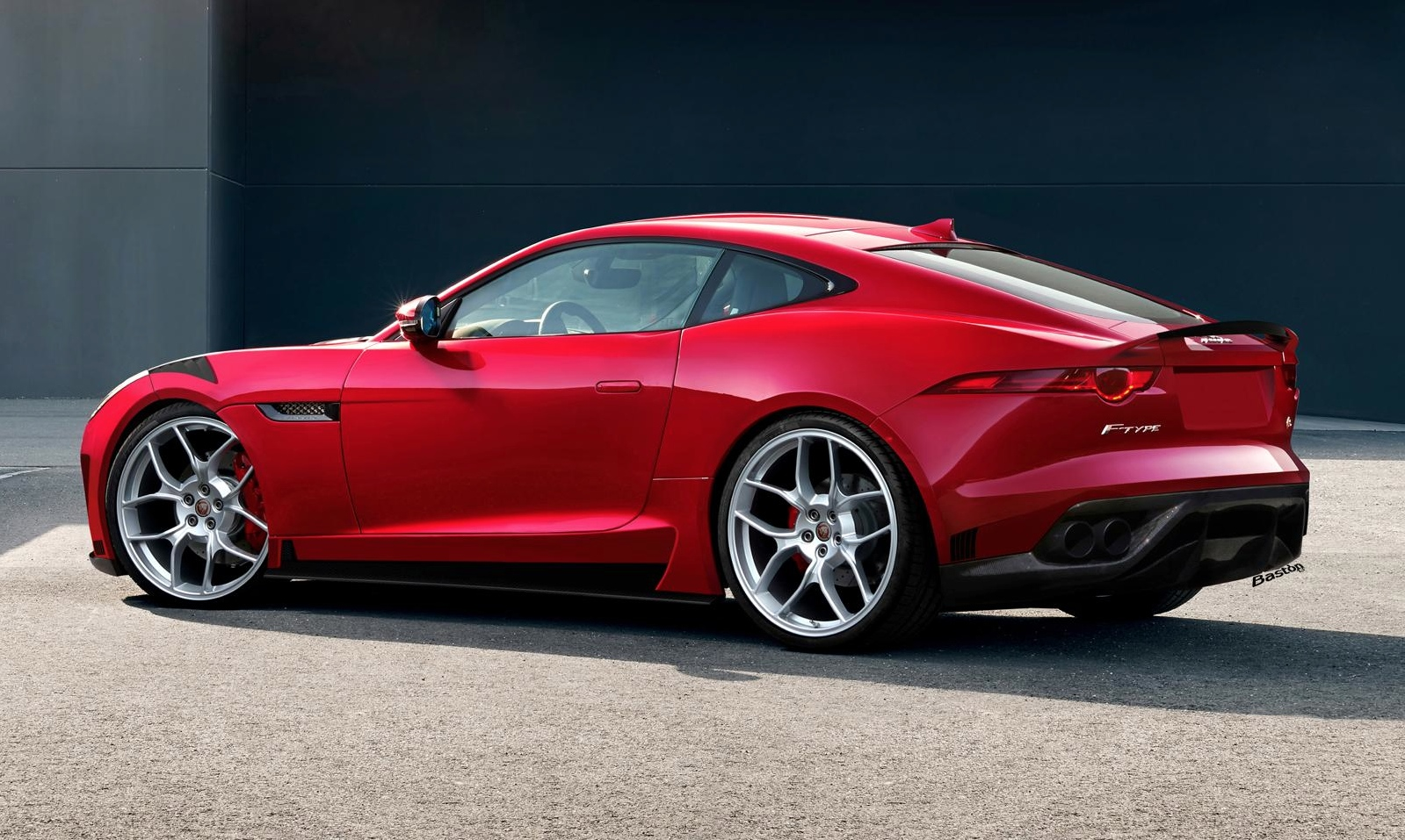 jaguar confirms f type coupe rs and rs gt rendering emerges autoevolution. Black Bedroom Furniture Sets. Home Design Ideas