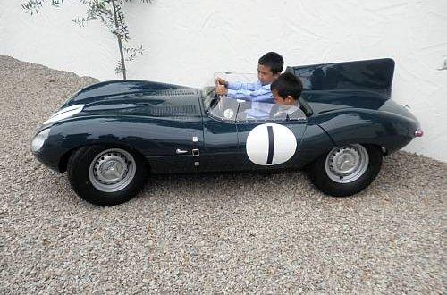 d type jaguar childrens car