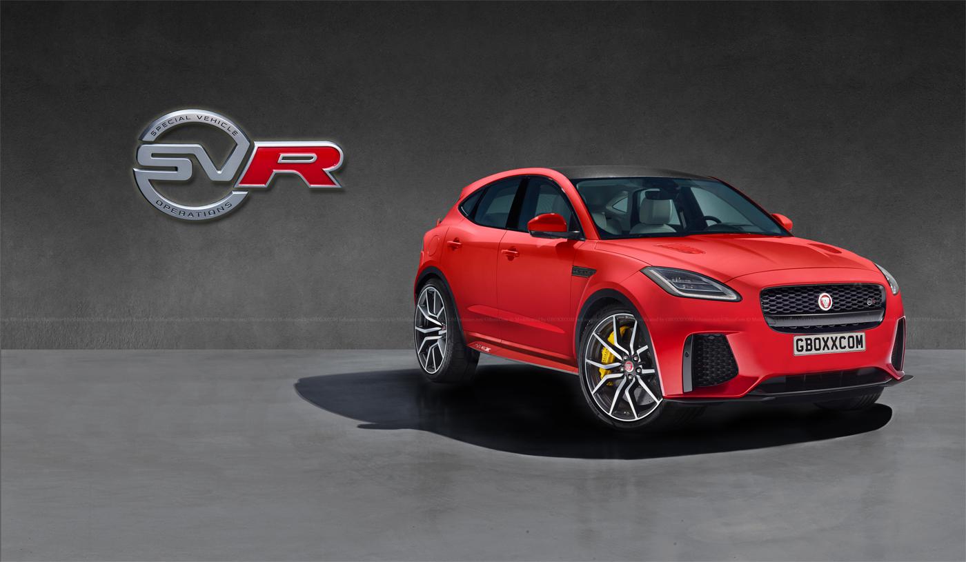Jaguar jaguar e : Jaguar E-Pace, XF, XJ Get The SVR Digital Makeover - autoevolution