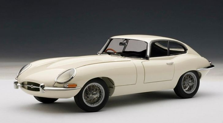 Jaguar E-Type Coupe Series I Scale Model Shines [Photo Gallery]