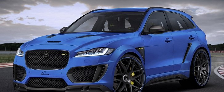 Jaguar F Pace Gets Widebody Kit And 24 Inch Wheels From