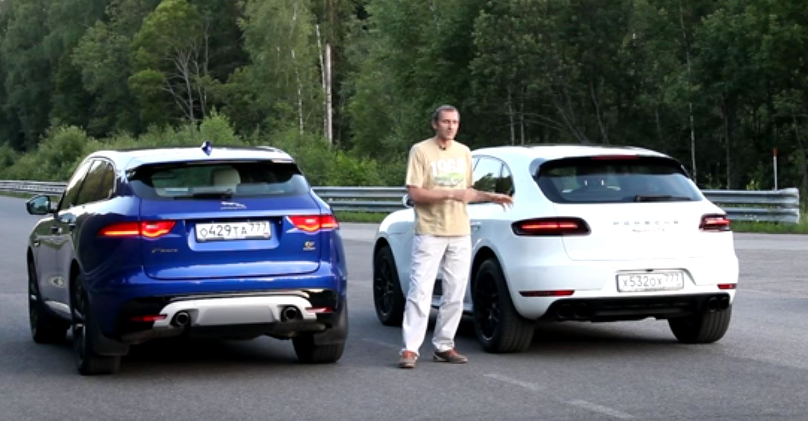 Charmant Jaguar F Pace S Vs. Porsche Macan GTS Drag Race Proves German HP Superiority