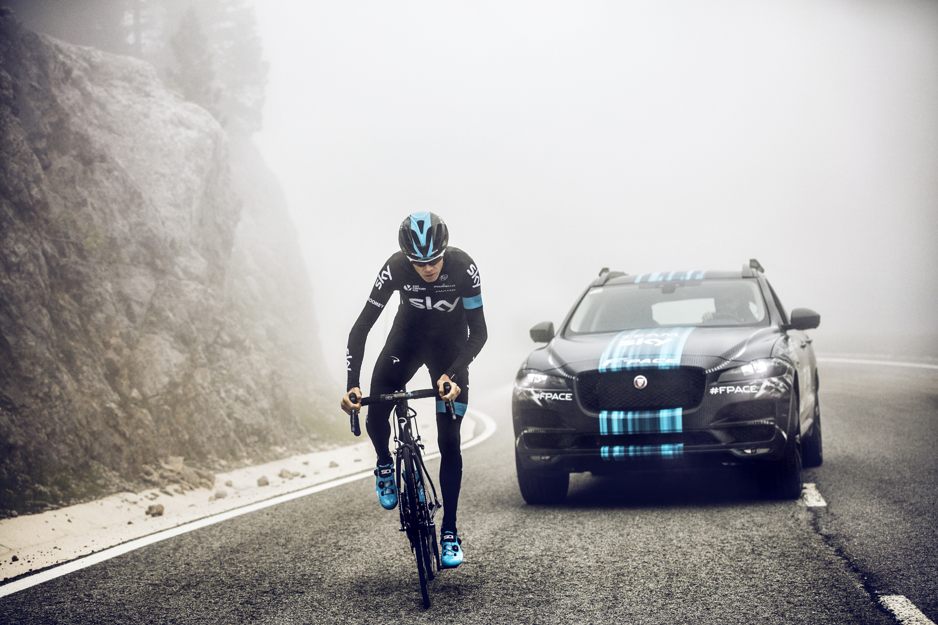 Jaguar F-Pace to Support Team Sky at Tour de France 2015 - autoevolution
